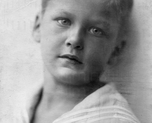 Kinderbild Curd Jürgens