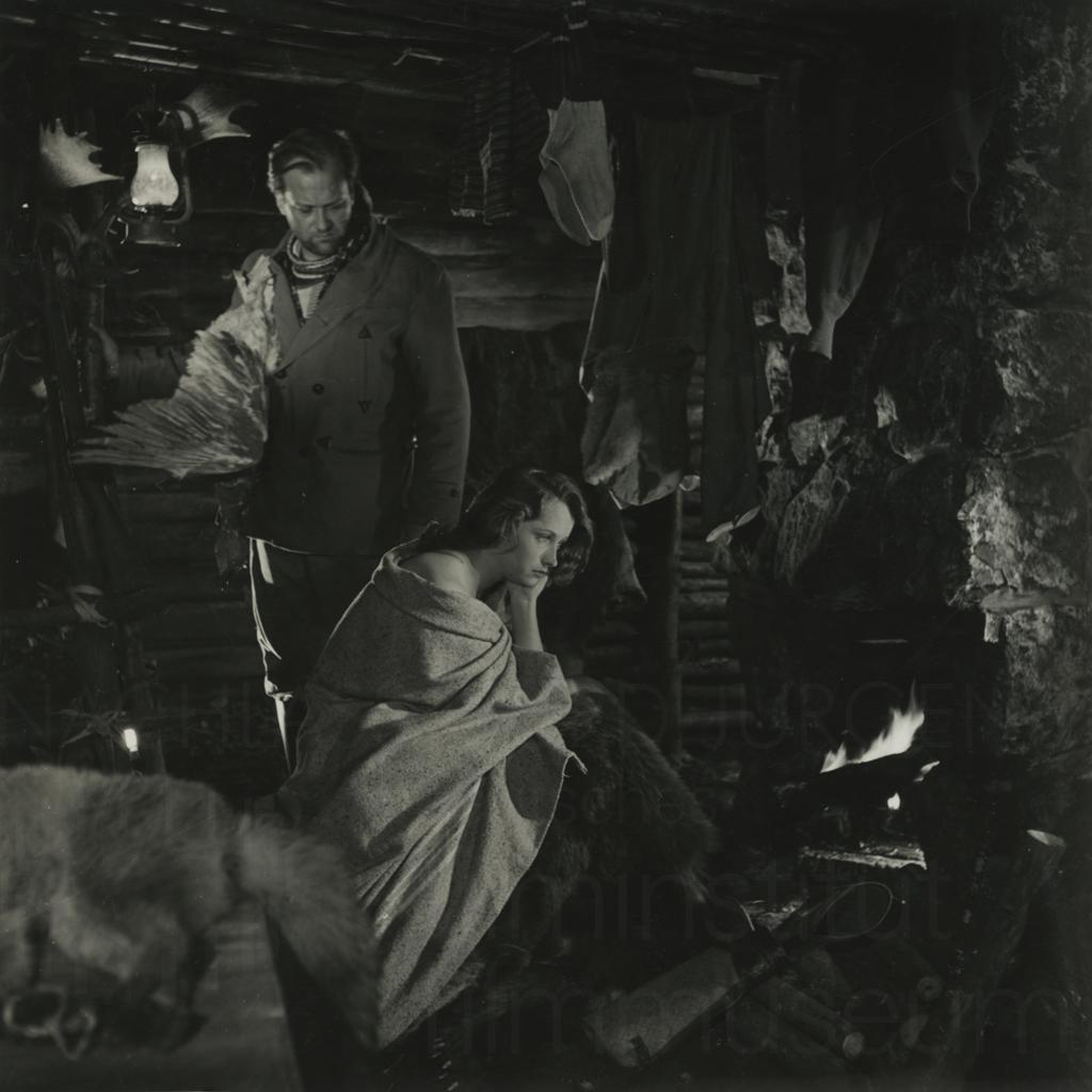 Curd Jürgens, Aglaja Schmid. Foto: Hermann Meroth