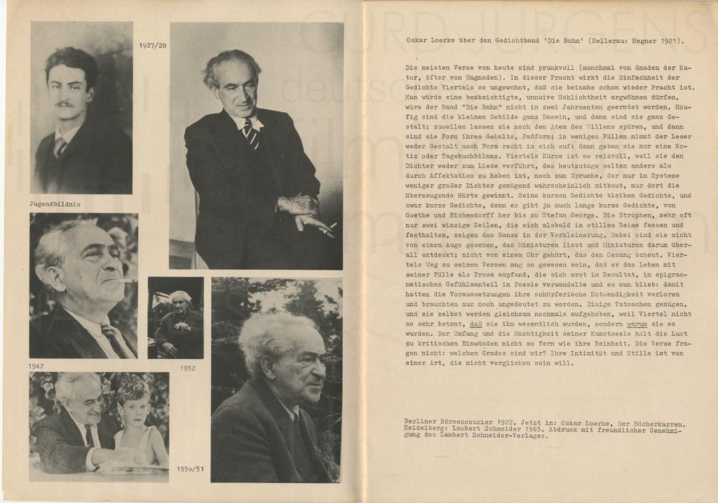 Festschrift für Berthold Viertel