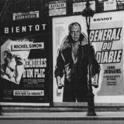 DES TEUFELS GENERAL (1955) Bewerbung des Filmstarts in Frankreich