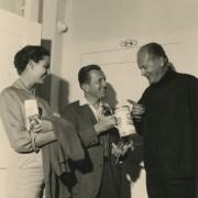 Curd Jürgens mit Edward Dmytryk