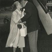 Curd Jürgens mit Romy Schneider