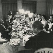 Curd Jürgens mit Maureen O'Hara, Theodore Bikel, Helmut Käutner