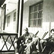 Curd Jürgens mit Lulu Basler und Hans Unterkircher