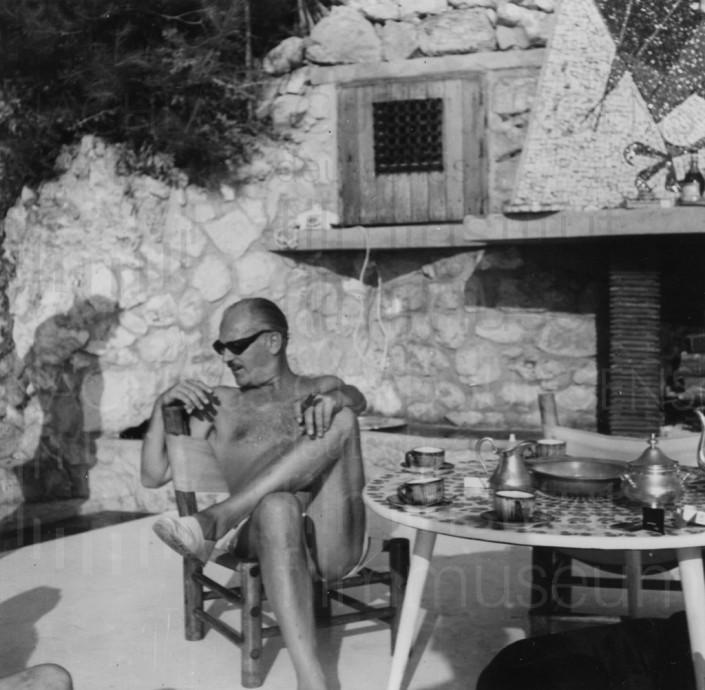 Curd und Simone mit Freunden, 1963