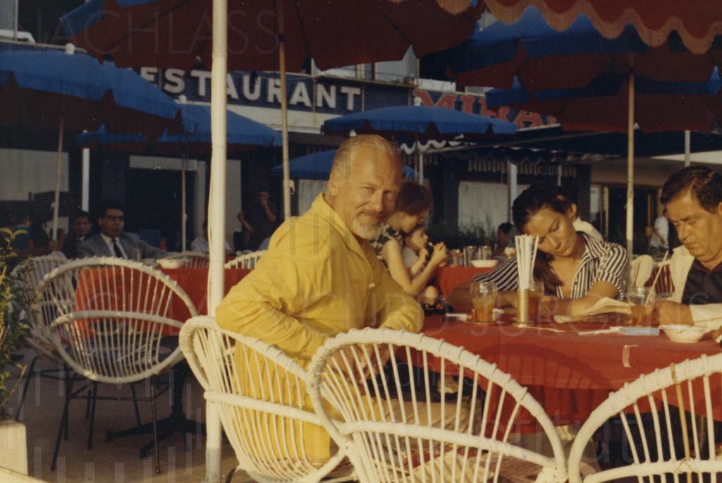 Curd und Simone mit Freunden, ca. 1965