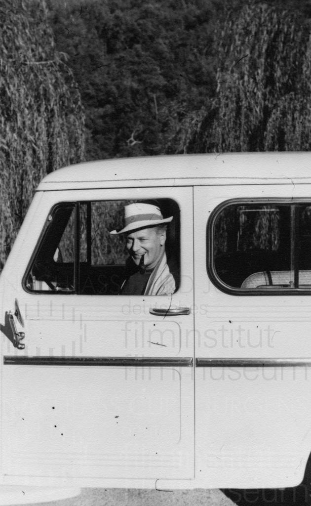 Curd und Simone privat, ca. 1961