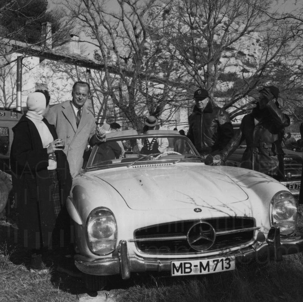 Curd Jürgens privat, 1961