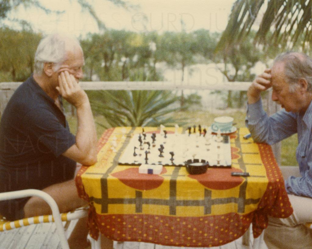 Curd Jürgens privat, Schach