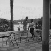 BITTER VICTORY (1957) Curd Jürgens privat