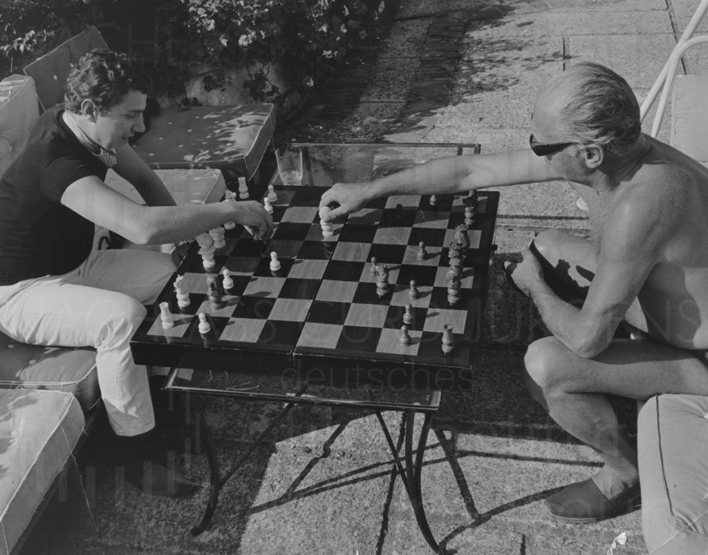 PR-Foto, Schach, 1960er Jahre