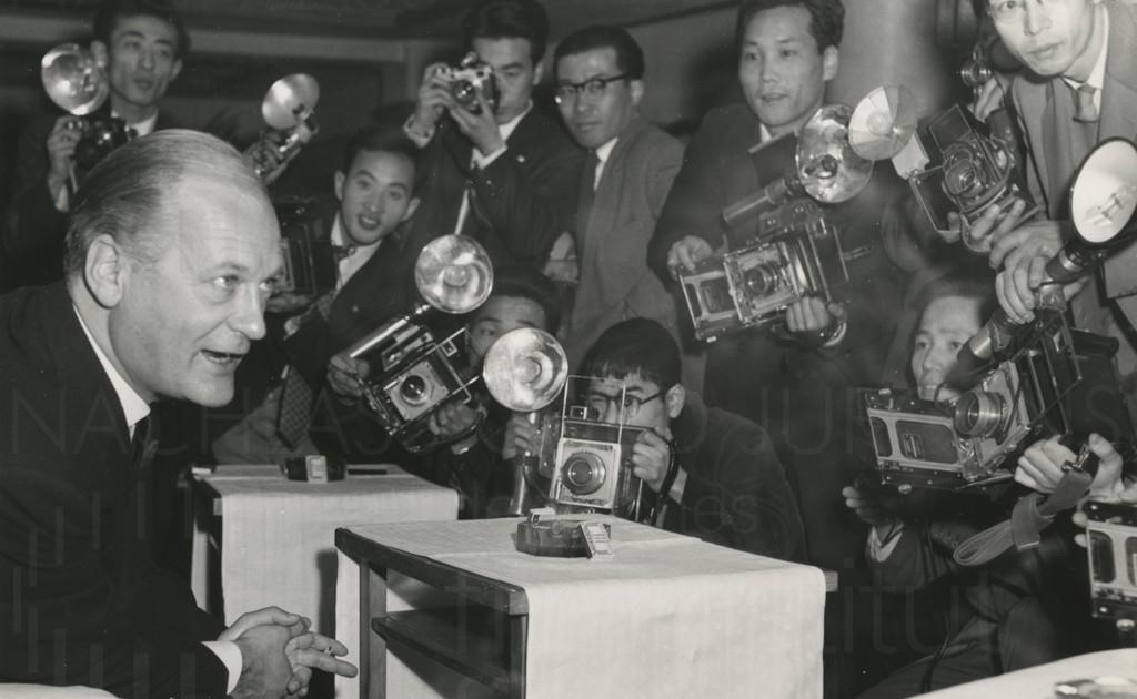PR-Foto, Asienreise, 1958
