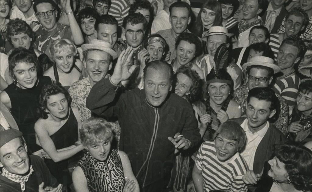 PR-Foto, Fasching in München, 1958