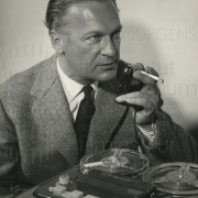PR-Fotos, Tonbandaufnahmen, Ende 1950er Jahre