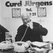 PR-Foto, Telefon BILD-Zeitung, 1980
