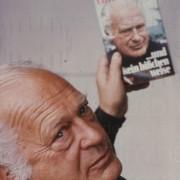 """PR-Foto, Frankfurter Buchmesse, """"...und kein bißchen weise"""", 1976"""