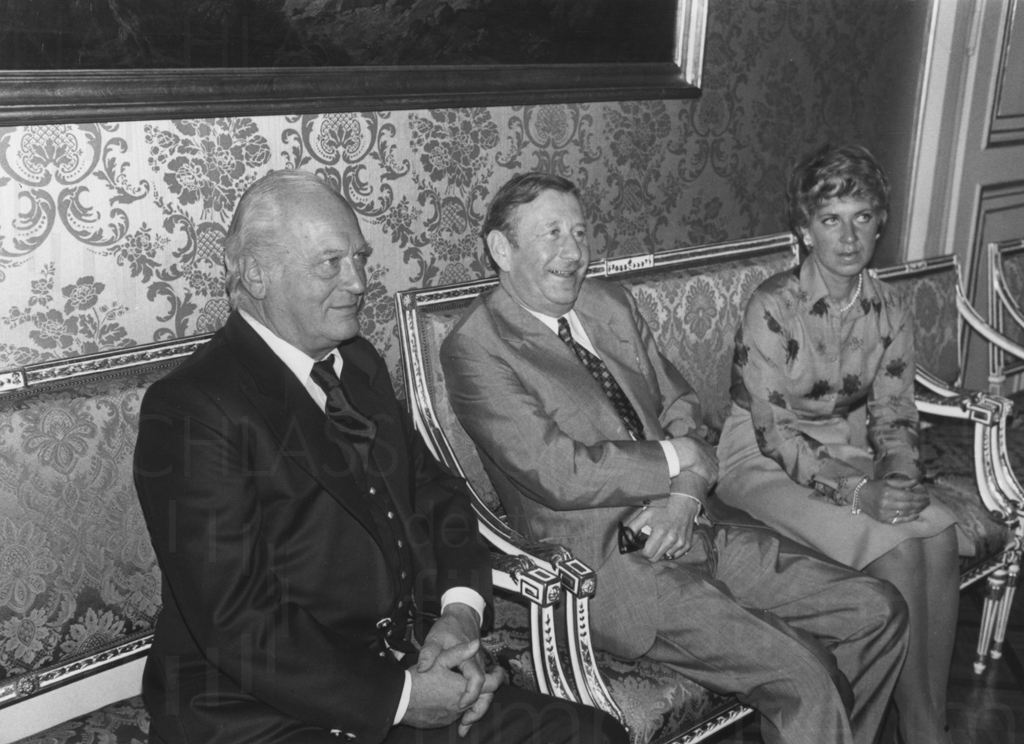 "PR-Foto, Verleihung des Titels ""Professor"", 1976"