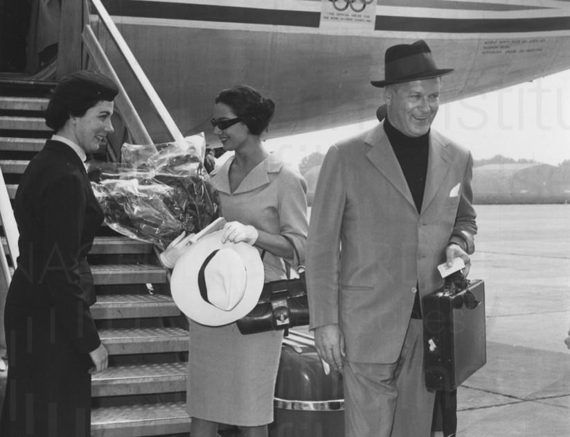 Curd und Simone privat, 1959