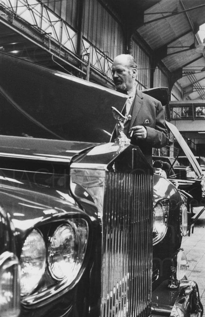 Curd und Simone, Rolls Royce Kauf, 1963