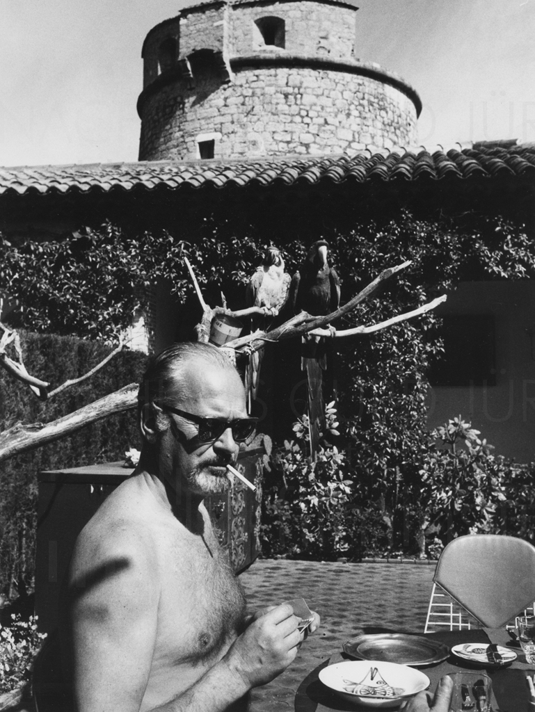 Curd und Simone privat, Cap Ferrat, ca. 1963