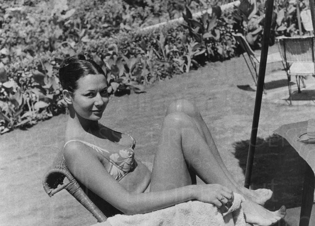 Curd und Simone privat, Rosimone, ca. 1963