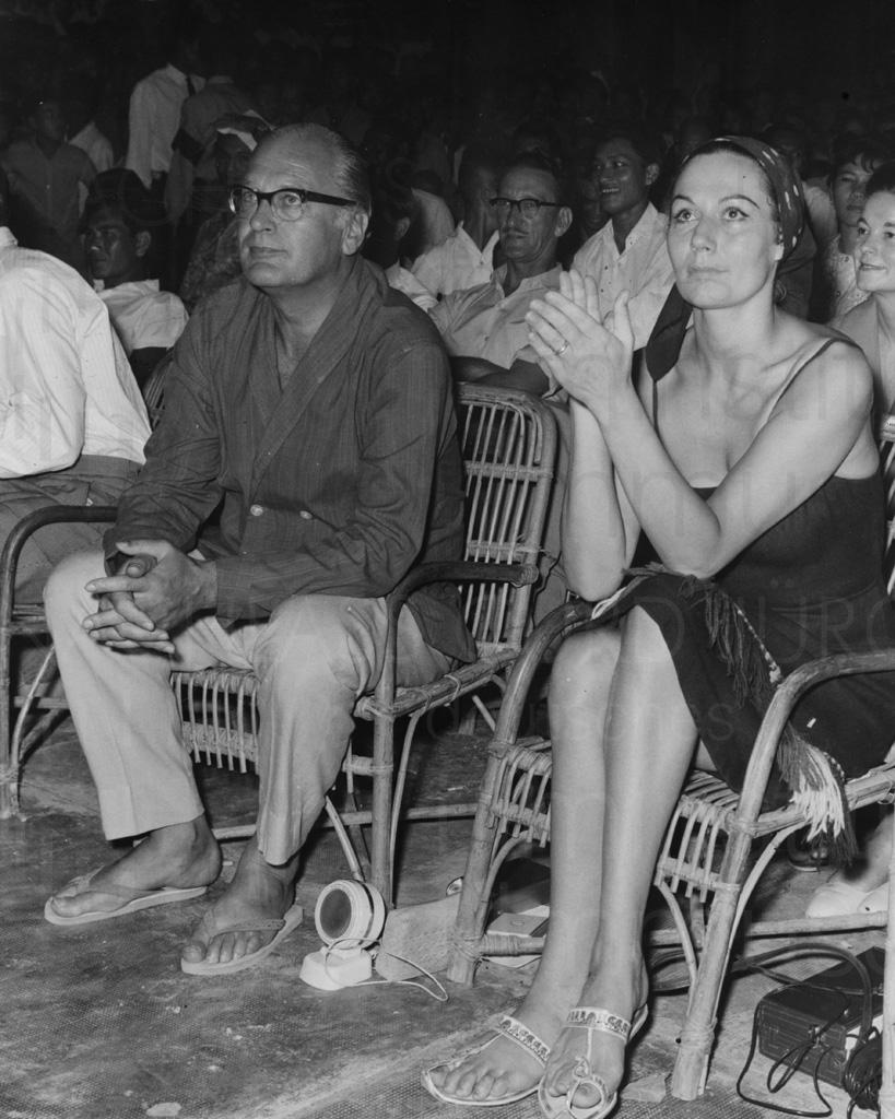 Curd und Simone, Asienreise, 1960er Jahre