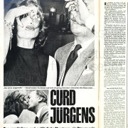 """QUICK: """"Curd Jürgens. Das wunderbare und gefährliche Abenteuer, ein Star zu sein"""", 1961, Teil 2"""