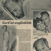 """Bravo: """"Curd ist unglücklich"""", 21.10.1956"""