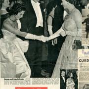 """""""Simone macht den Hofknicks"""". In: Weltbild, Nr. 24, 1958"""