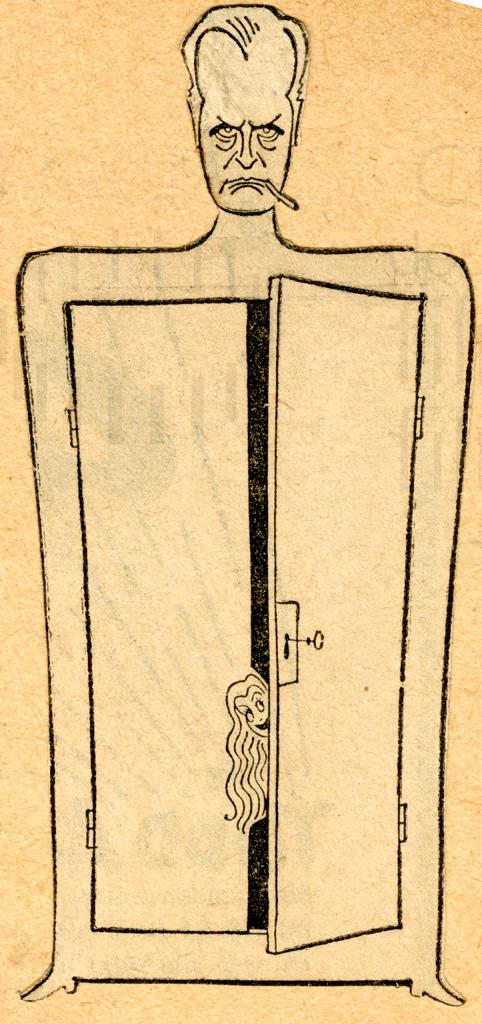 ET DIEU CRÉA LA FEMME (1956) Curd-Jürgens-Karikatur