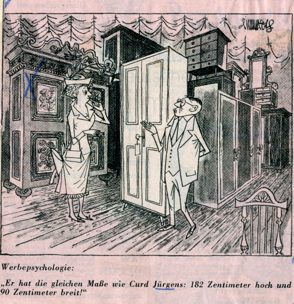 Karikatur, dt., 1961