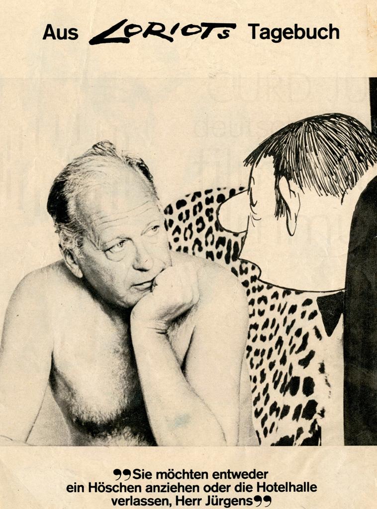 Karikatur, dt., 1969