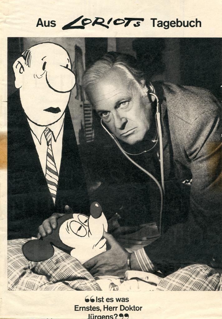 DER ARZT VON ST. PAULI (1968) Karikatur