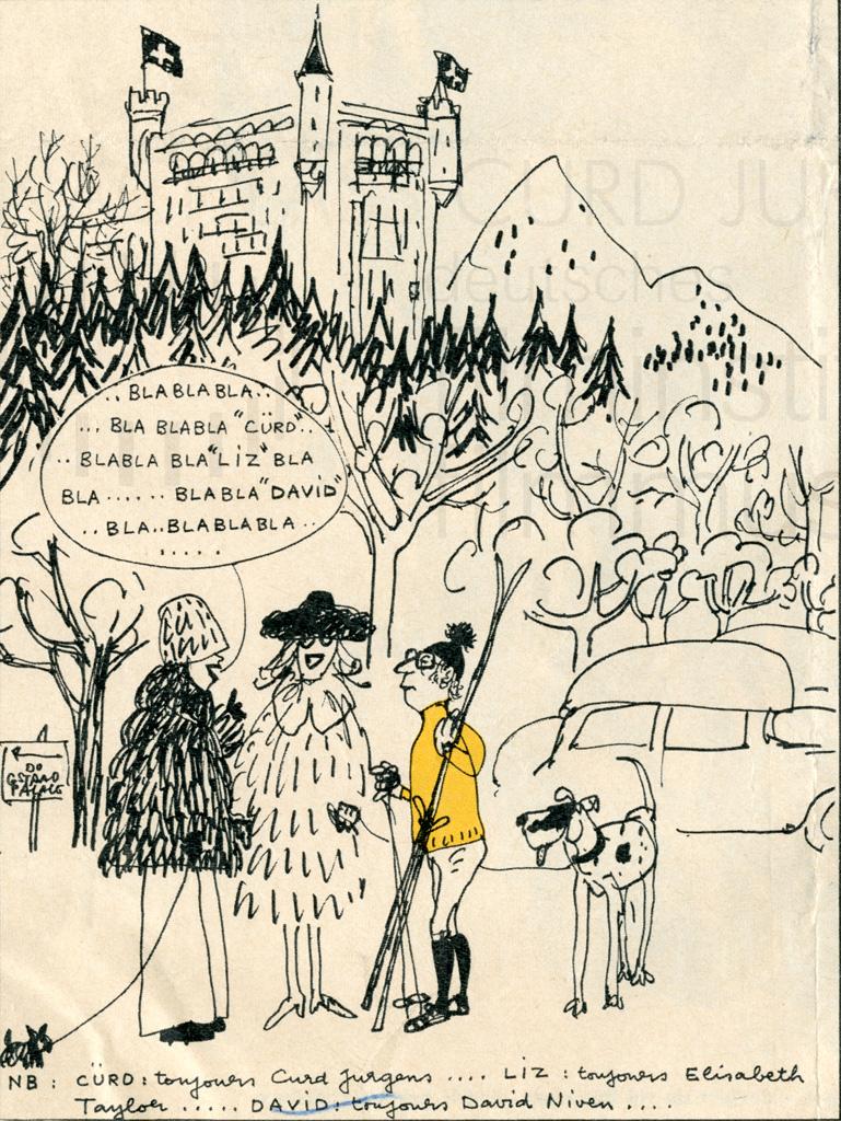 Karikatur, frz., 1973