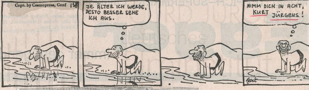 Karikatur, dt., 1973