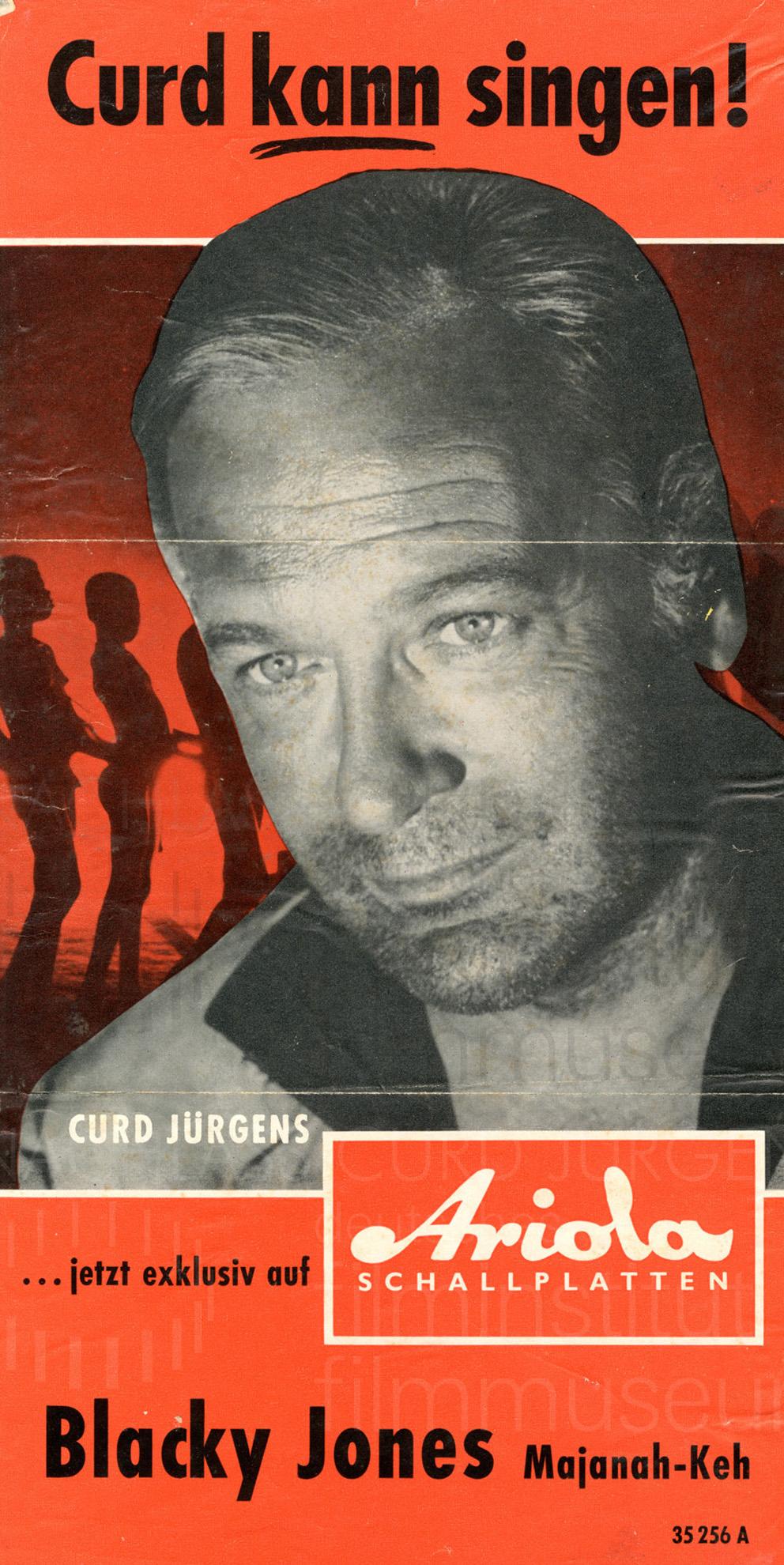 Werbung für die Lieder auf Ariola Schallplatten, 1960
