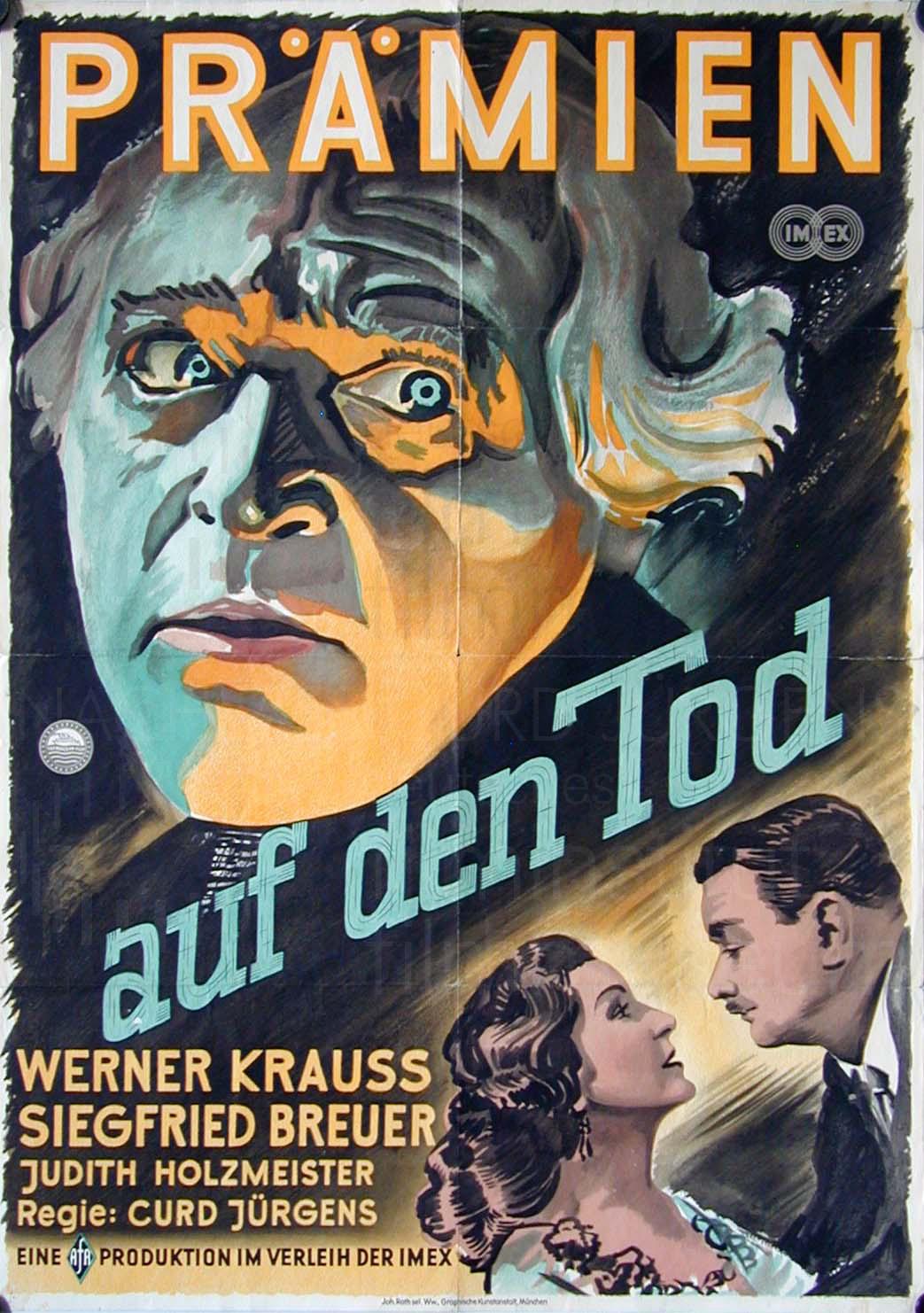 PRÄMIEN AUF DEN TOT (1950)