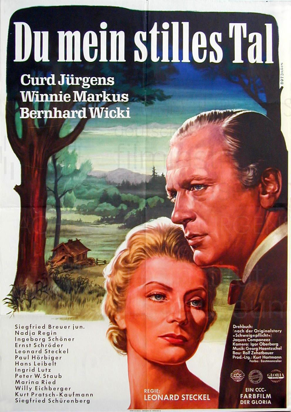 DU MEIN STILLES TAL (1955)