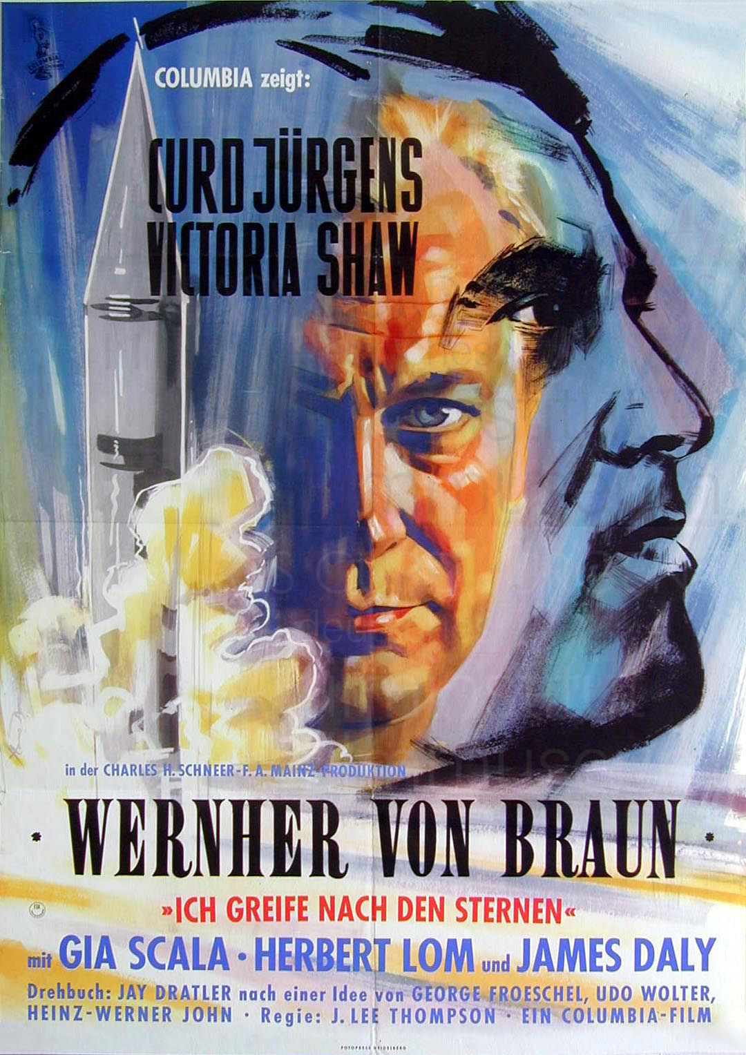 WERNHER VON BRAUN – I AIM AT THE STARS (1960)