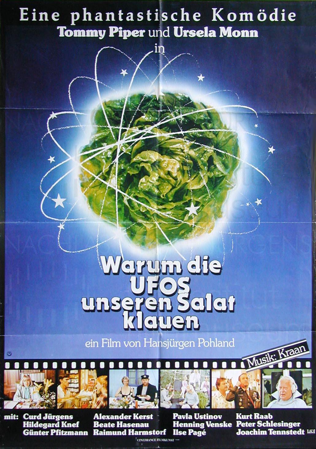 WARUM DIE UFOS UNSEREN SALAT KLAUEN (1980)