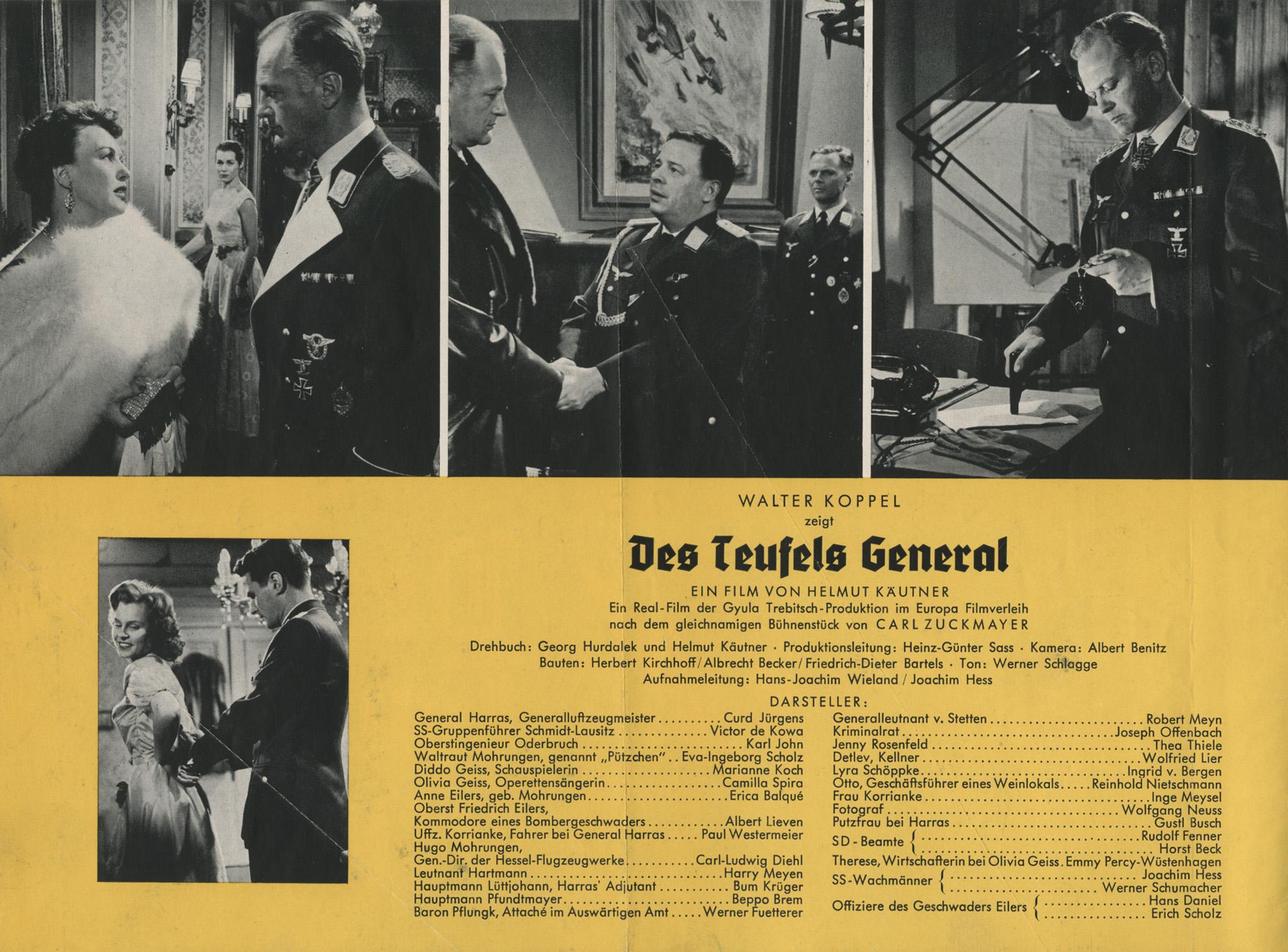 DES TEUFELS GENERAL (1958)