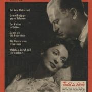 TEUFEL IN SEIDE (1955) Frankfurter Illustrierte, 7.1.1956