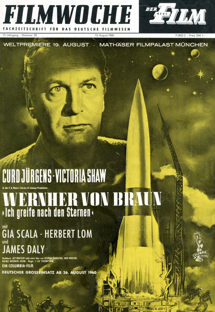 WERNHER VON BRAUN - I AIM AT THE STARS (1960)