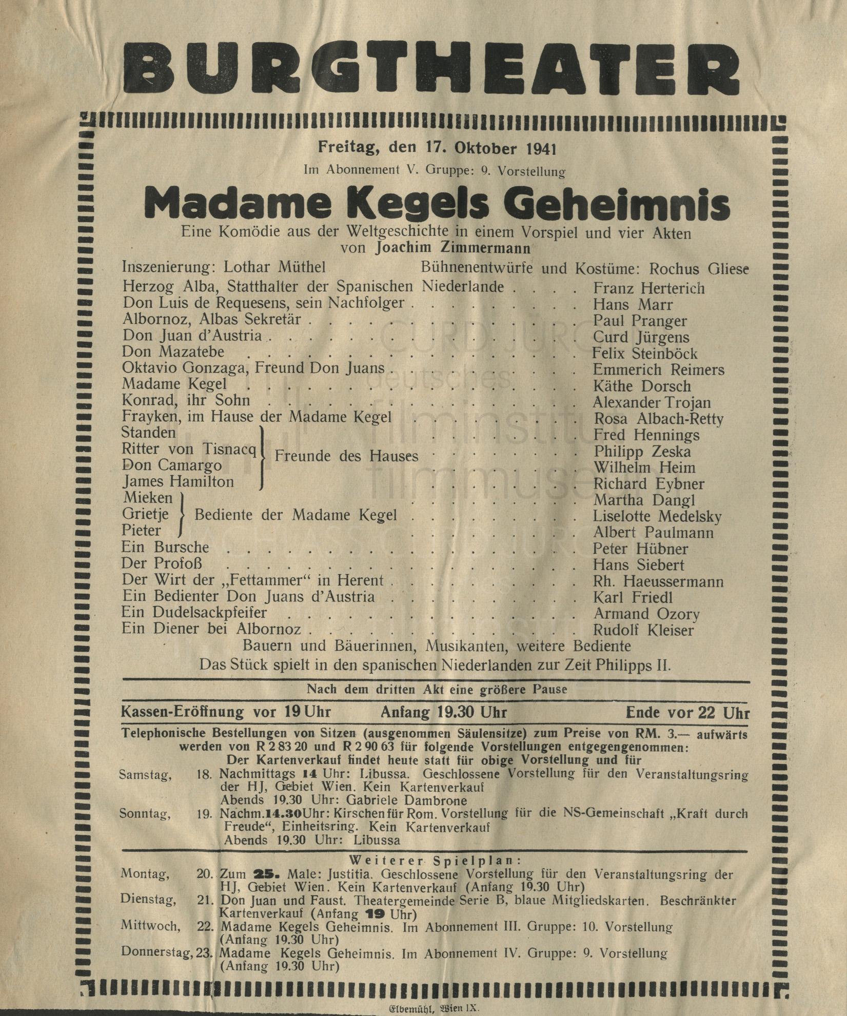 """""""Madame Kegels Geheimnis"""""""