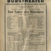"""""""Der Sturz des Ministers"""""""