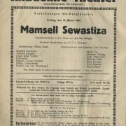 """Mamsell Sewastiza"""