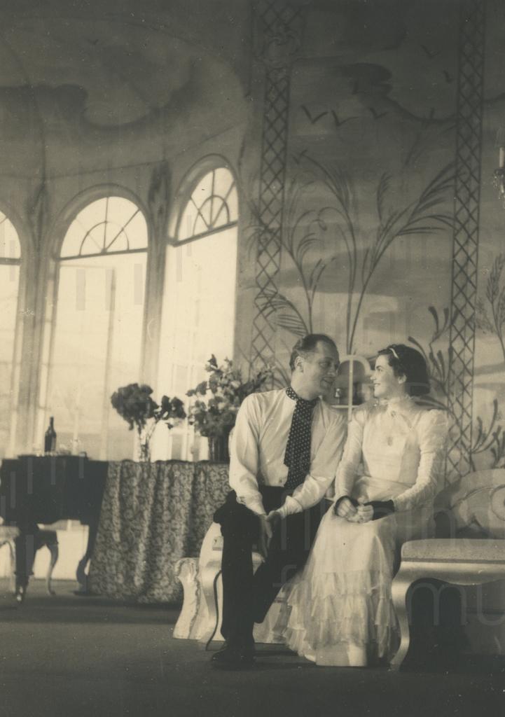 An Curd Jürgens' 34. Geburtstag, Wien, 13.12.1949