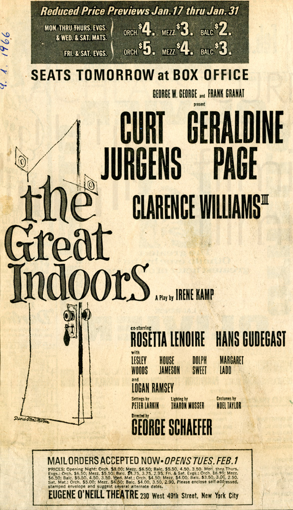 """The Great Indoors"""