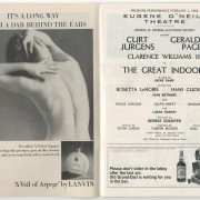 "Playbill Jg. 3, Nr.1. ""The Great Indoors"", Jan, 1966"