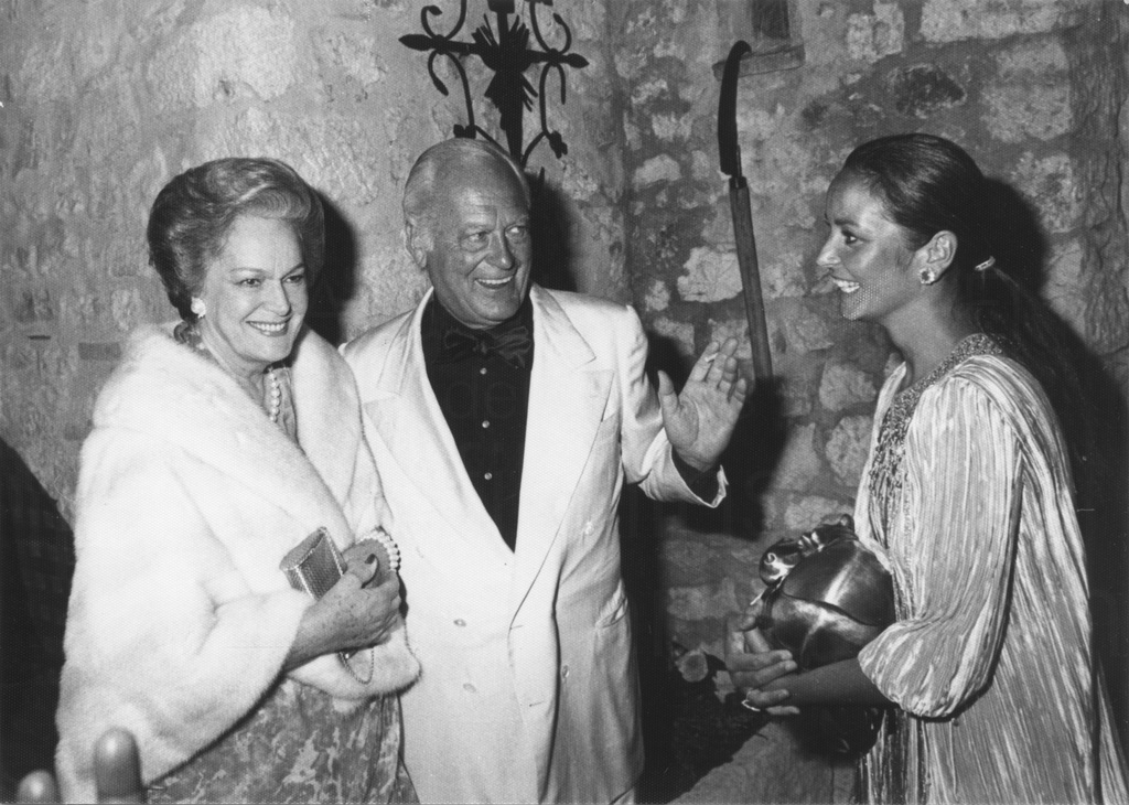 Hochzeitsfeier Curd und Margie Jürgens, St. Paul de Vence, 1978